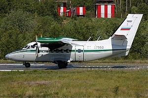 2nd Arkhangelsk United Aviation Division - Let L-410