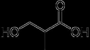 3-Hydroxyisobutyric acid - Image: 3 Hydroxyisobutyric acid