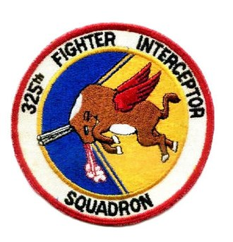 325th Fighter-Interceptor Squadron - Image: 325th Fighter Interceptor Squadron Emblem