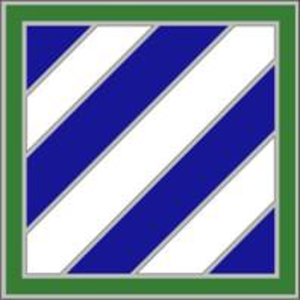 3rd Infantry Division (United States) - The 3rd Infantry Division's combat service identification badge (CSIB)
