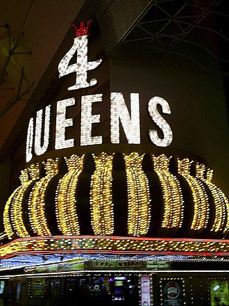 Four Queens - Image: 4queens sign