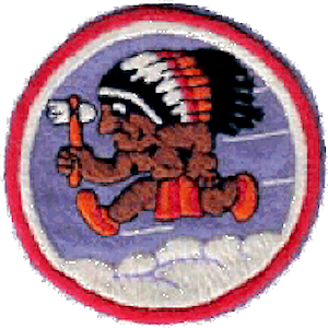 556th Strategic Missile Squadron - World War II 556th Bombardment Squadron emblem