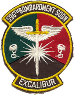 596th Bombardment Squadron - SAC - Emblem.png
