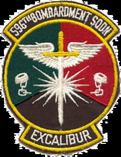 596th Bombardment Squadron