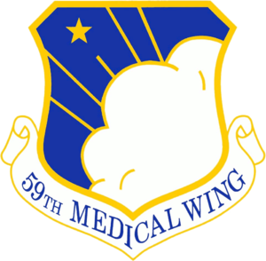 59th Medical Wing - Emblem of the 59th Medical Wing