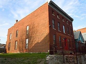 West Third Street Historic District (Davenport, Iowa) - Building at 620 West Third Street