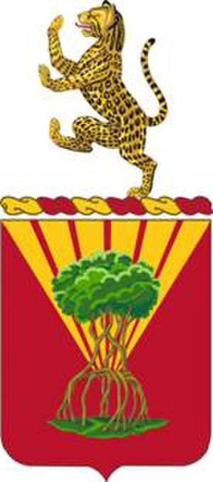 65th Air Defense Artillery Regiment - Coat of arms
