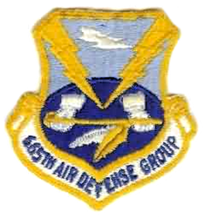 Calumet Air Force Station - Emblem of the 665th Air Defense Group