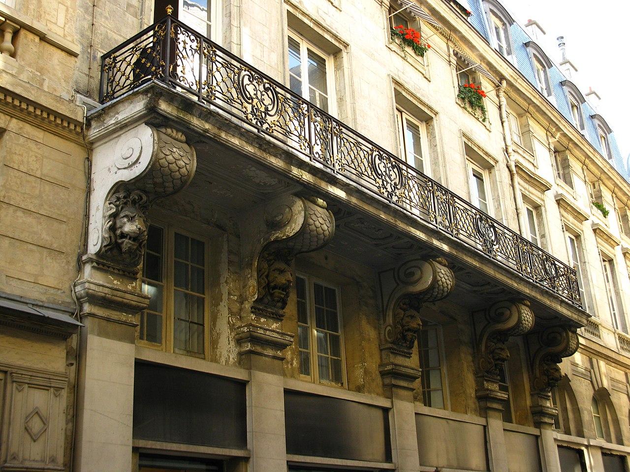 Fichier 6 rue de valois wikip dia for Balcon in english