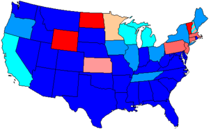 73rd United States Congress - Image: 73 us house membership