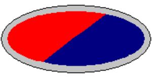 2/15th Field Regiment (Australia) - Image: 8th Division Artillery Unit Colour Patch