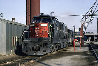 Krauss-Maffei ML 4000 CC German-built 3500hp diesel-hydraulic locomotives sold to USA and Brazil