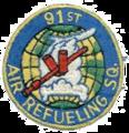 91st Air Refueling Squadron - KB-29 - SAC - Emblem.png