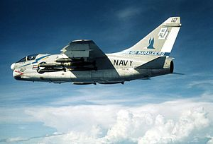 VFA-82 - VA-82 A-7C over Vietnam c.1972