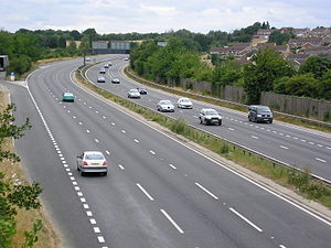 A20 road (England) - Image: A20Swanley