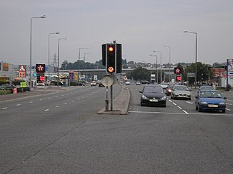 A4161 road - Image: A4161 Cardiff