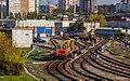 ALg-056 in Yeltsovskoe depot, Novosibirsk.jpg