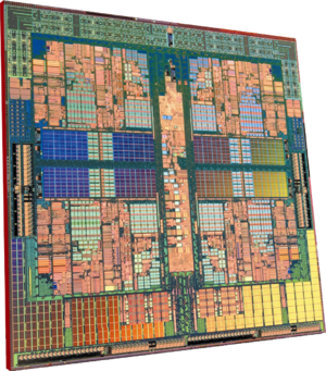 AMD Phenom™ Quad-Core Processor Die