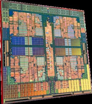 AMD Phenom™ Quad-Core Processor Die