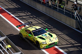Aston Martin Racing - The new Aston Martin Vantage AMR which competes in the 2018-19 FIA World Endurance Championship
