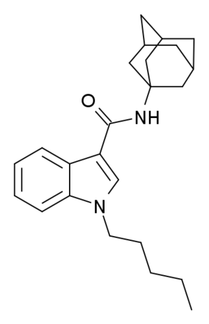 APICA (synthetic cannabinoid drug) - Image: APICA structure