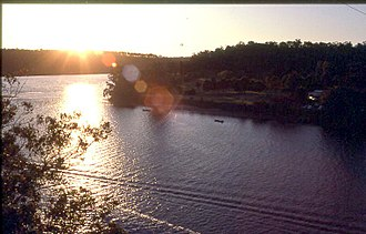 Nowra, New South Wales - Shoalhaven River at sunset