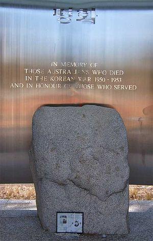 Korean War Memorial, Canberra