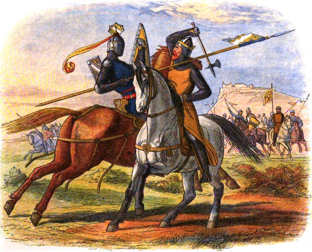 Хроники Англии - Страница 283 - Брюс убивает сэра Генри Бохуна.jpg