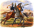 A Chronicle of England - Page 283 - Bruce Kills Sir Henry Bohun.jpg