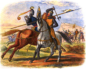 Robert the Bruce kills Sir Henry de Bohun on t...