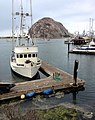 A Dock in Morro Bay, California Looking Out Toward the Famous Morro Rock.jpg