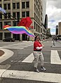A Rainbow Flag covered by a Red Umbrella!.jpg