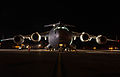 A U.S. Air Force C-17 Globemaster III is readied for loading on the tarmac at Ellsworth Air Force Base, S.D. 121102-F-HK400-403.jpg
