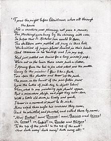 graphic relating to Twas the Night Before Christmas Printable named A Check out in opposition to St. Nicholas - Wikipedia