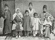 A Zoroastrian Family Teheran 1910