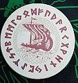 A beverage coaster with runes - Getränkeuntersetzer mit Runen.jpg