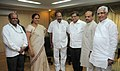 A delegation from Karnataka MLAs meeting the Union Minister for Corporate Affairs and Power, Dr. M. Veerappa Moily, in New Delhi on August 17, 2012.jpg