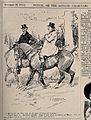 A man remarking to his friend, while out hunting, that he ha Wellcome V0011453.jpg
