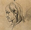 A man whose face exemplifies the melancholy temperament. Dra Wellcome V0009108ER.jpg
