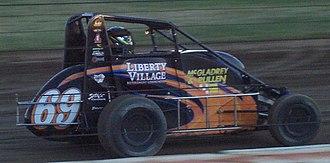 Aaron Fike - 2008 midget car