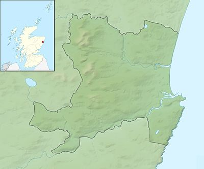 Aberdeen UK relief location map.jpg
