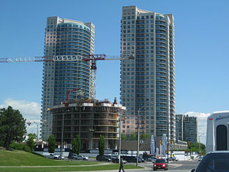 Absolute World - Image: Absolute Condos Construction June 4th, 2009