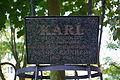 Acer platanoides Karl to 10 years of cooperation Sanok-Reinheim 2004 plaque.jpg