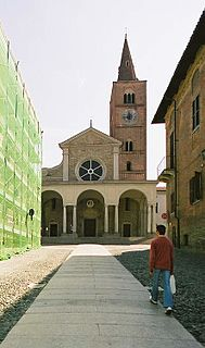 cathedral in the city of Acqui Terme, Italy