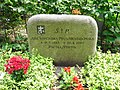 Ada Kopcińska-Niewiadomska - Friedhof Lichterfelde.JPG