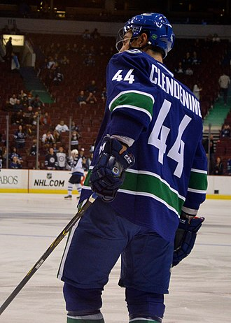 Adam Clendening - Clendening with the Canucks in February 2015