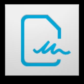 Acrobat.com - Image: Adobe Echo Sign icon (2012)