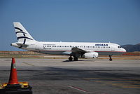 SX-DVM - A320 - Olympic Air