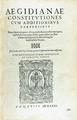 Aegidianae Constitutiones, 1571 - 002.tif