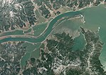 Aerial photographs in the vicinity of Kitakami River estuary 8 days after the 2011 Tohoku earthquake.jpg